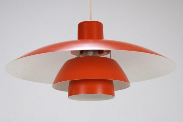 2 x PH4/3 hanging lamp by Poul Henningsen for Louis Poulsen, 1960s