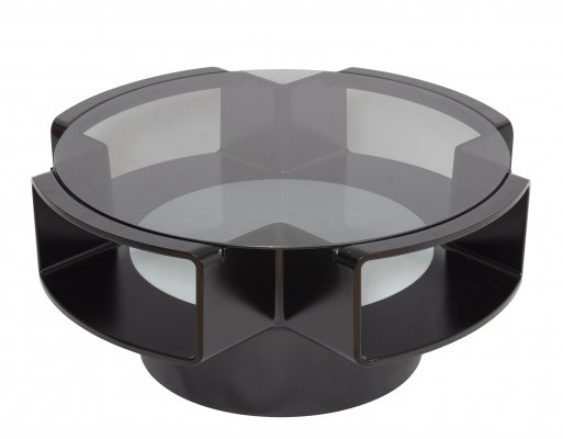 Curvoform series coffee table by Curver, 1970s