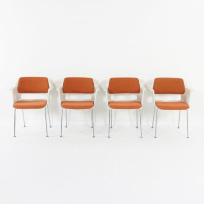 4 Gispen dining chairs '2225' by A.R. Cordemeyer
