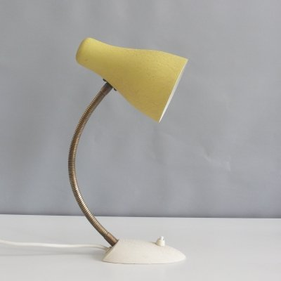 SIS shrink varnish desk lamp, 1950s