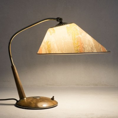 Swiss table lamp type 33 by Temde, 1960s