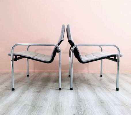 Dutch Design 'Ultrex' Easy Chairs by Just Meijer for Kembo, 1970's