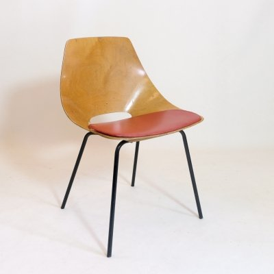 Tonneau chair by Pierre Guariche for Steiner, 1950s