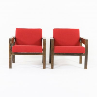 Lounge chairs 'SZ25-SZ80' by Hein Stolle for 't Spectrum, 1950s