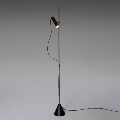 Adjustable Italian Floor Lamp, 1950s