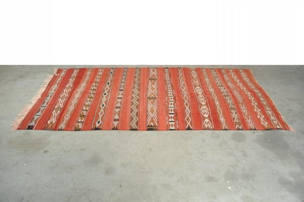 Hand-knotted rug from Morocco, 1980s