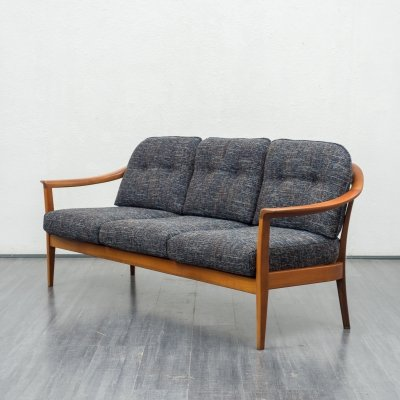 Wilhelm Knoll sofa in cherrywood, 1960s