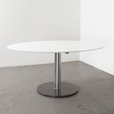 Alfred Hendricks Oval Dining Table for Belform, 1960s