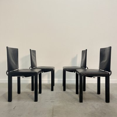 Set of 4 Arcadia chairs by Paolo Piva, Italian design 1990s
