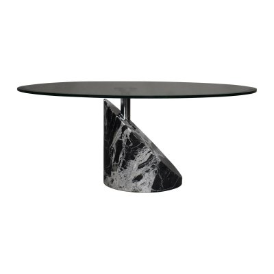 Giorgio Cattelan marble coffee table, 1980s