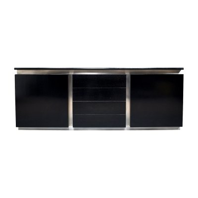 Lodovico Acerbis sideboard in ebonized oak