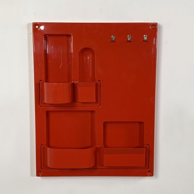 Red Wall Storage System, 1970s