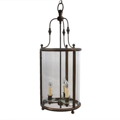 Large French Early 20th Century Lantern