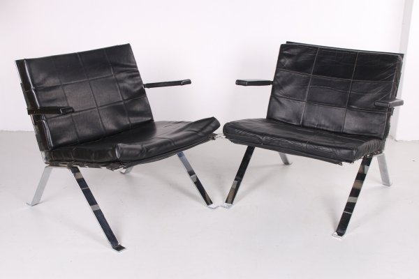 Set of 2 Lounge Chairs by Hans Eichenberger for Girsberger, 1960s