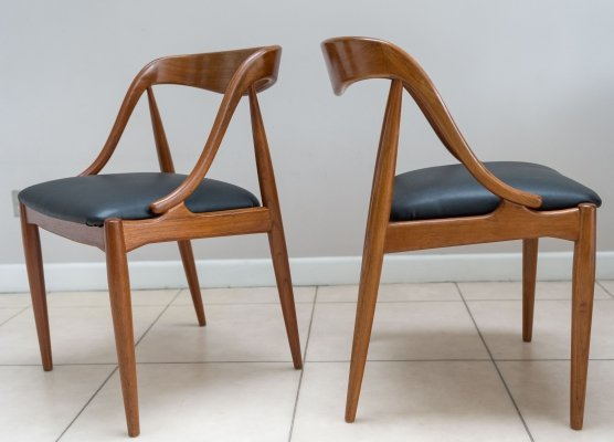 Set of 6 Johannes Andersen dining chairs, 1960s