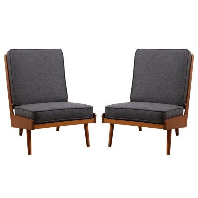 Pair of Robin Day Chairs, 1950s