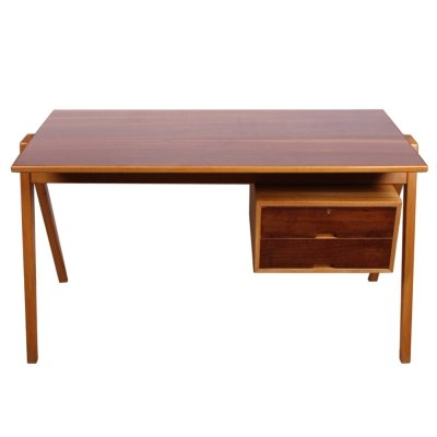 Hillestak 1950s Desk by Robin Day for Hille of London