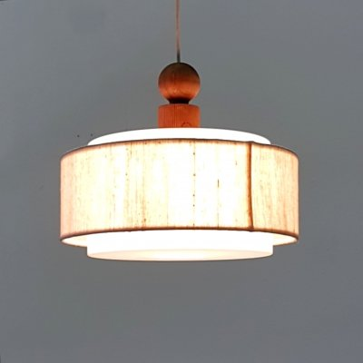 Mid century pendant lamp by Uno & Östen Kristiansson for Luxus, Sweden 1960s