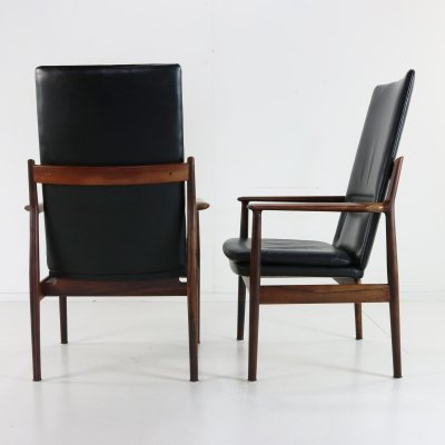 Pair of Model 431 arm chairs by Arne Vodder for Sibast, 1960s