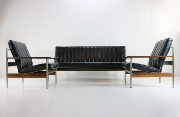Model 1001 seating group by Sven Ivar Dysthe for Dokka Möbler, 1960s