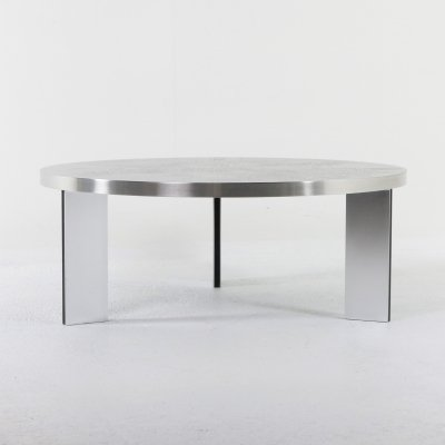 Etched coffee table by Heinz Lilienthal, Germany 1960s