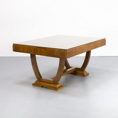 30s Art deco dining table