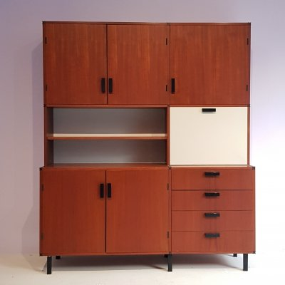Vintage Made to Measure Dressoir/Highboard by Cees Braakman for Pastoe