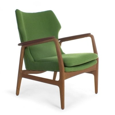 Green Armchair by Aksel Bender Madsen for Bovenkamp