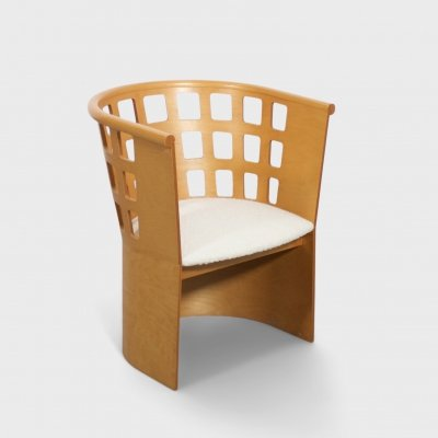 Rare Eero Aarnio Birch Armchair for Asko, Finland