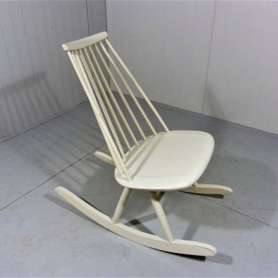 Rocking chair Mademoiselle by Tapiovaara, 1950-60's