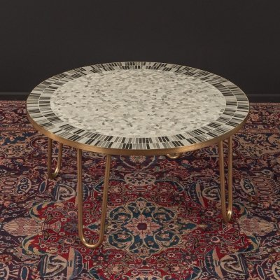 1950s mosaic coffee table by Berthold Müller Oerlinghausen