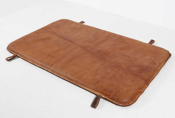 Leather gym mat, ca.1930