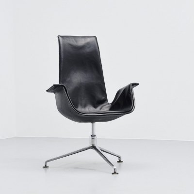 Preben Fabricius & Jorgen Kastholm FK6725 bird chair, Germany 1964