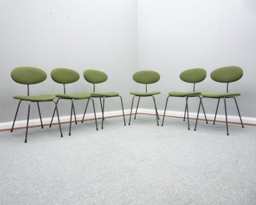 Set of 6 Dining Room Chairs by Hans Bellmann for Domus Germany, 1950s