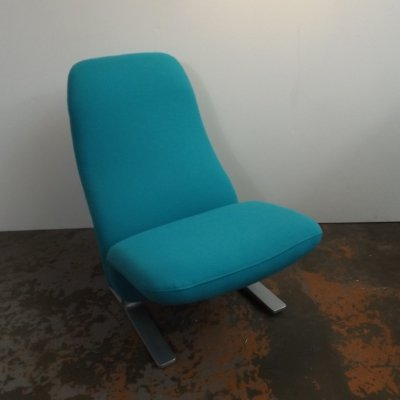 F 784 Concorde lounge chair by Pierre Paulin for Artifort, 1970s