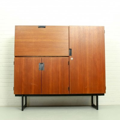 Japanese Series Highboard by Cees Braakman for Pastoe, The Netherlands 1960's