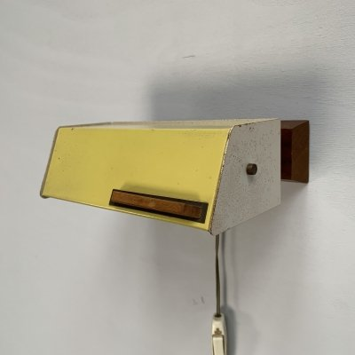 Adjustable wall lamp by Niek Hiemstra for Evolux, Netherlands 1950s