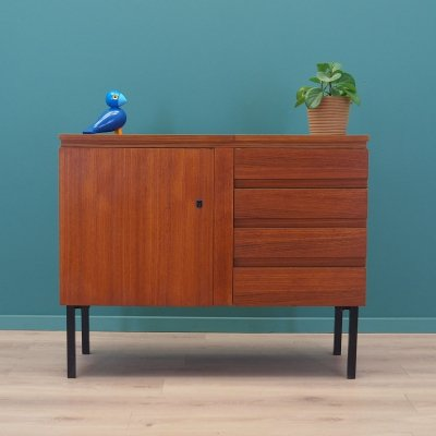 Chest of drawers with sewing machine, Danish design 1970s