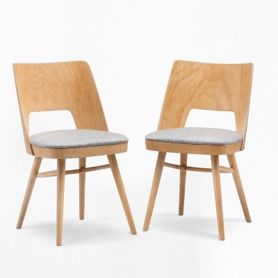 Pair of chairs by Radomsko, 1950s