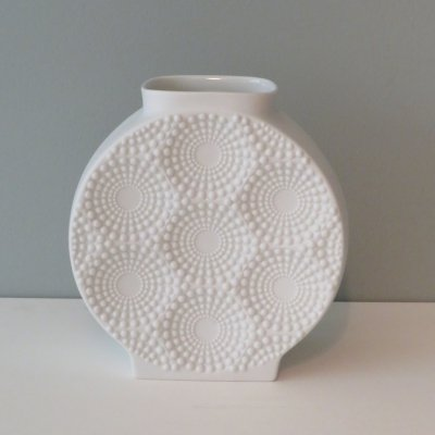Op Art vase by F. Frey for Alboth & Kaiser, Germany 1960-1969