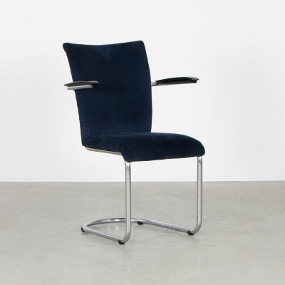 Model 1018 dining chair by Toon De Wit for De Wit, 1950s
