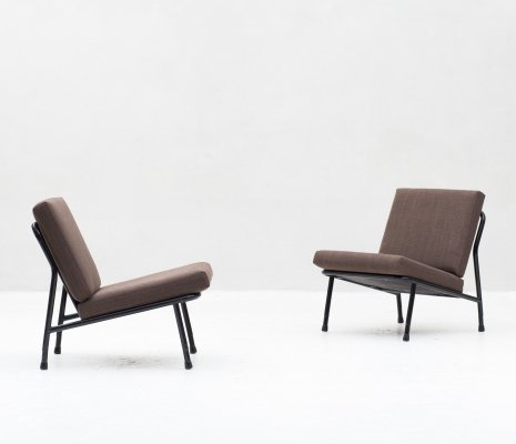 Pair of Model 013 lounge chairs by Dux, 1970s