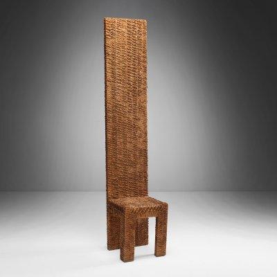 Wooden Sculpture by Urano Palma, Italy 1970s