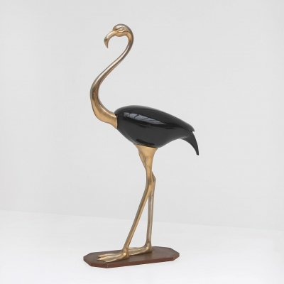 Large flamingo sculpture by Fondica, France 1970
