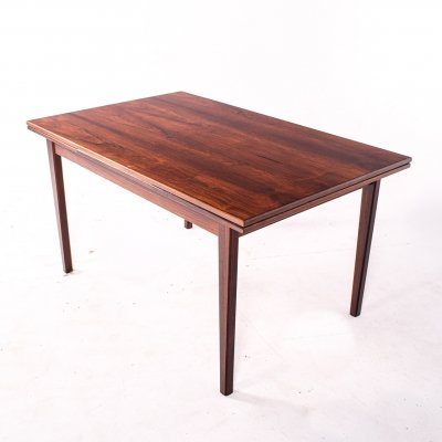 Danish Extendable Dining Table in Rosewood