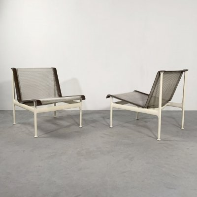 Pair of Garden Lounge Chairs by Richard Schultz for Knoll, 1960s