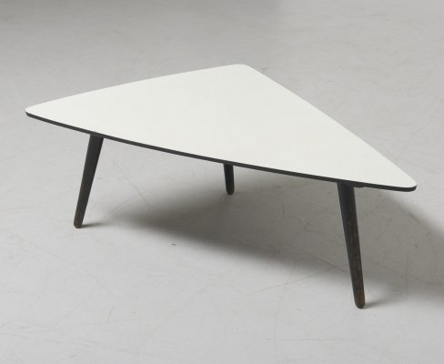 Triangular Low Table by Bovenkamp, Netherlands 1950's
