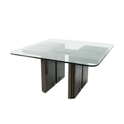 Dining Table by Umberto Asnago & Ambrogio Pozzi for Giorgetti S.p.A. Italy, 1982