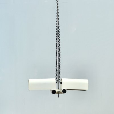 Adjustable pendent lamp by Wilhelm Braun Feldweg for Doria Leuchten