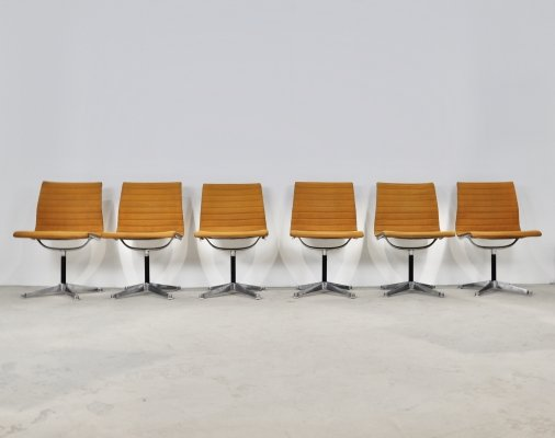 EA108 Chairs by Charles & Ray Eames for Herman Miller, 1970s